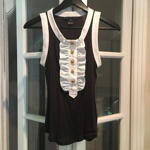 Marc by Marc Jacobs tuxedo top size M